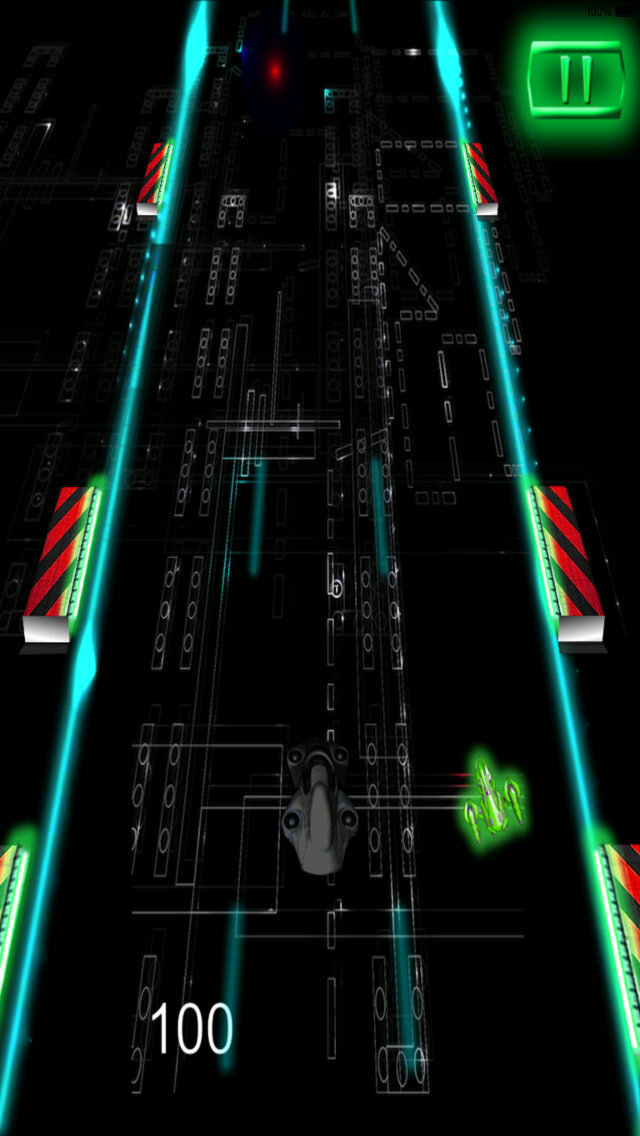 A Futuristic Crazy Car - In Space Racing Extreme screenshot 4