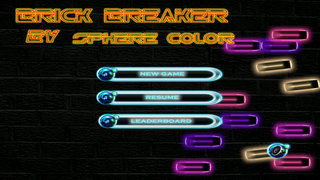 Brick Breaker By Sphere Color - Best Old-Fashioned Bricks Game screenshot 1