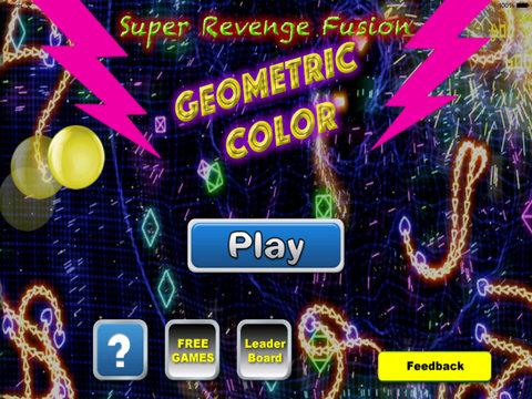 Super Revenge Fusion Geometric Color Pro - True Geometric War Is About To Begin screenshot 6