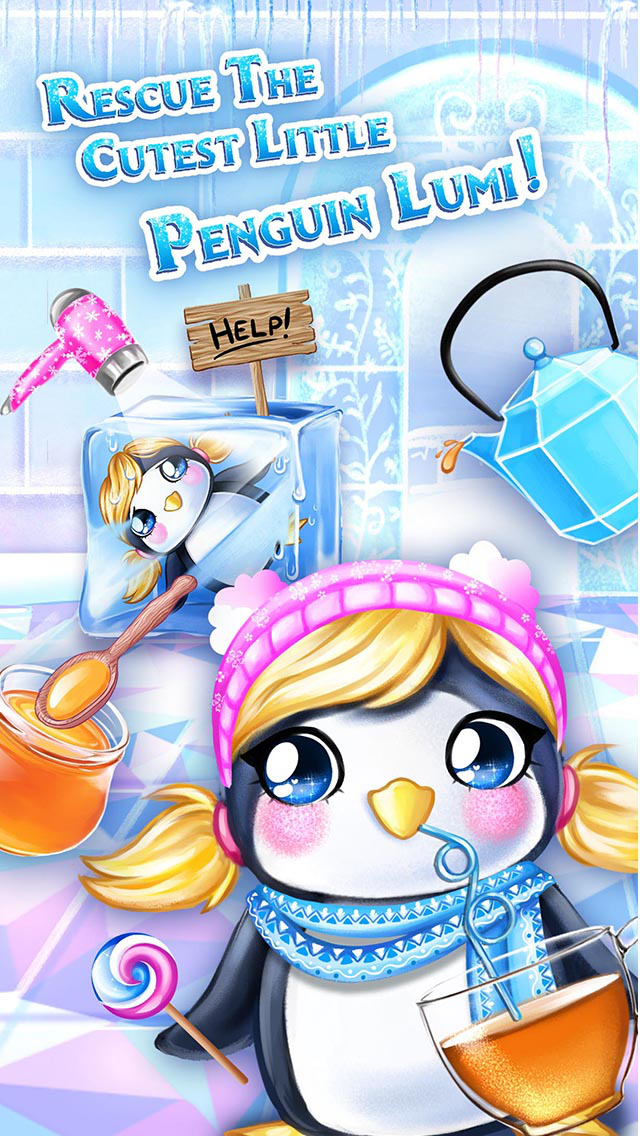 Ice Palace Princess Salon - Hair Care, Makeup & Dress Up screenshot 5
