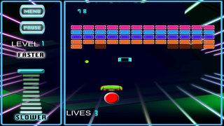 A Powerful Ball Against The Bricks - Galactic Bricks Breaking Game screenshot 2