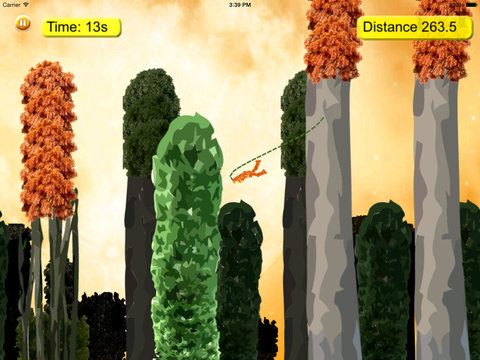 A Liberating Darkness Rope - Amazing Fly Game screenshot 10