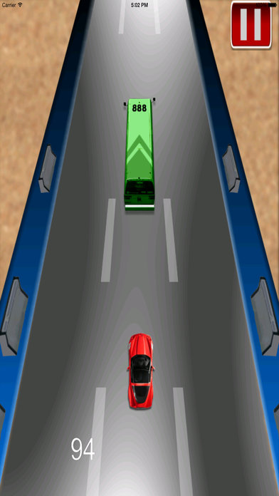 Adrenaline Vector Car Rush Pro - Adventure Race screenshot 2