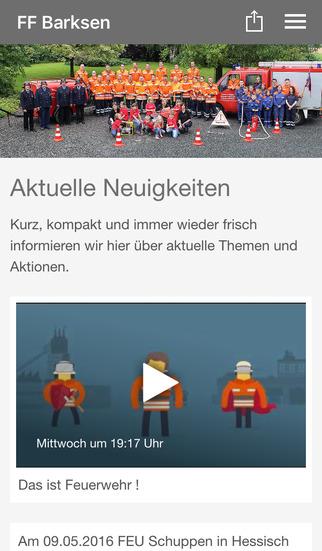 Freiwillige Feuerwehr Barksen screenshot 1