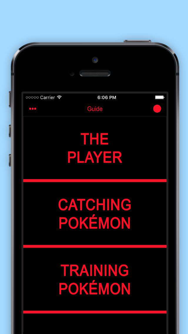 Guide & Tricks for Pokémon GO screenshot 1