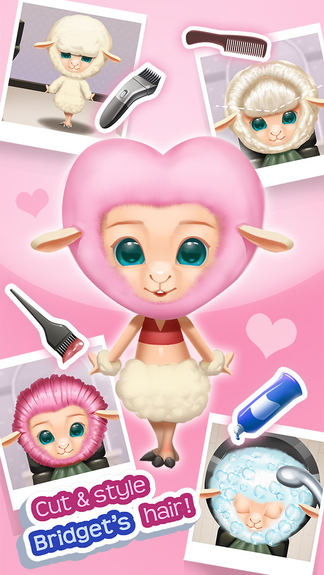 Zooville Animal Town - Hair Salon, Makeup, Doctor, Cooking & Dress Up screenshot 1