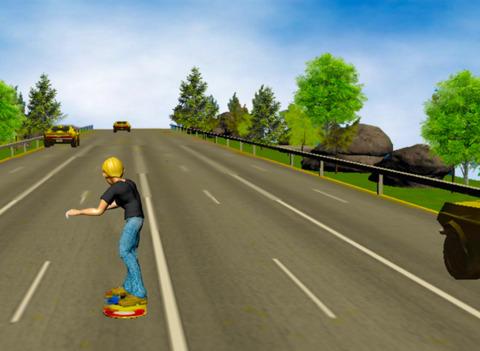 Hoverboard Racer 3D screenshot 4