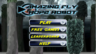 Amazing Fly Rope Robot Pro - Revenge Cyber War Lords screenshot 1