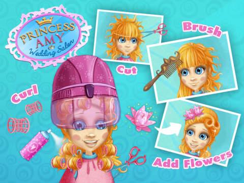 Princess Amy Wedding Salon - No Ads screenshot 10