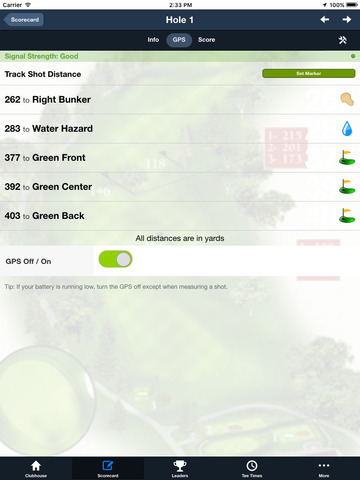 Home of Guiding Hands Golf screenshot 9