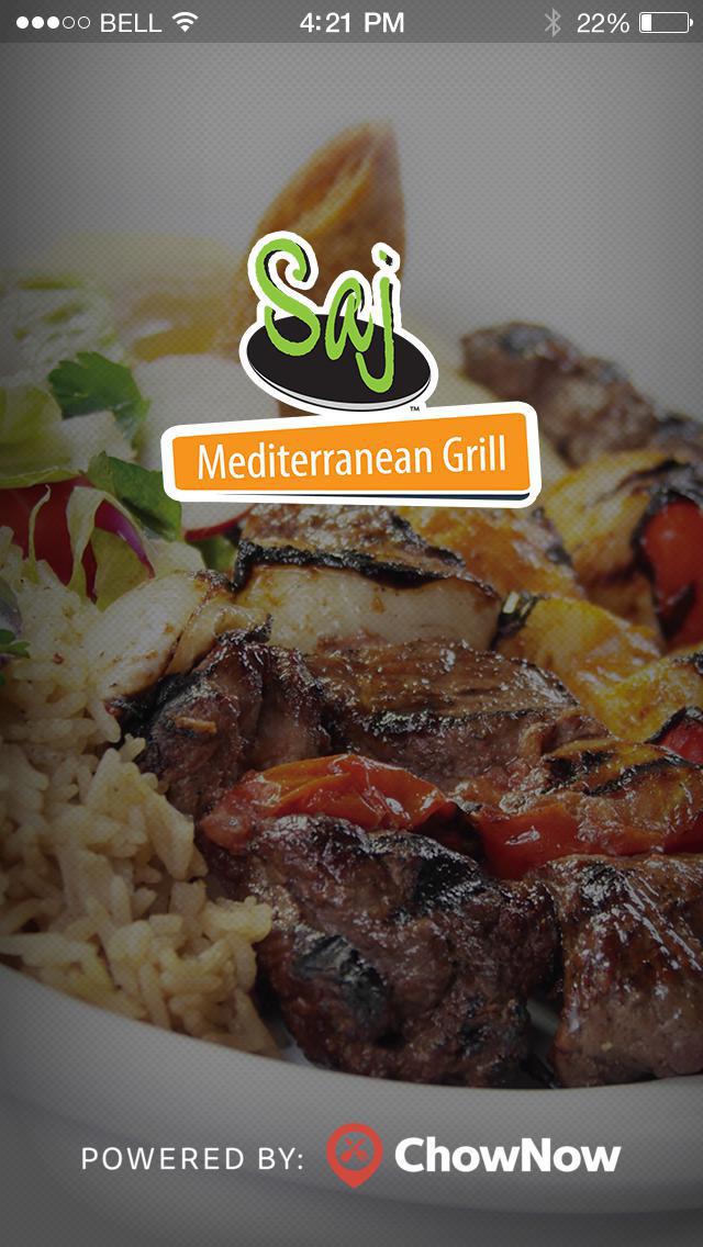 Saj Mediterranean Grill screenshot 1