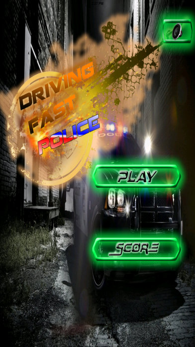 A Driving Fast Police - Racing Hovercar Game screenshot 1