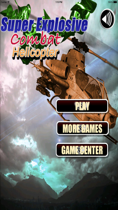 Super Explosive Combat Helicopter Pro - Flying High And Avoid blow screenshot 1