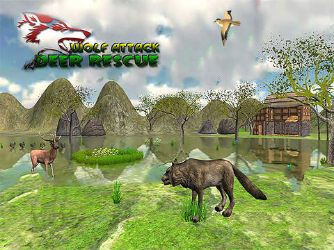Deer Rescue Mission- kill wolf screenshot 4