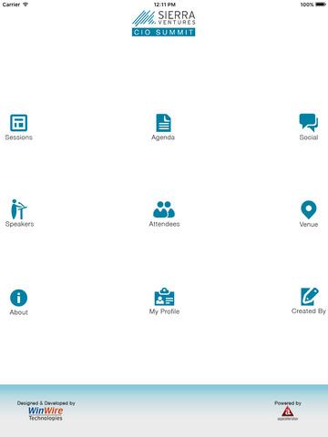 WinWire CIO Event - náhled