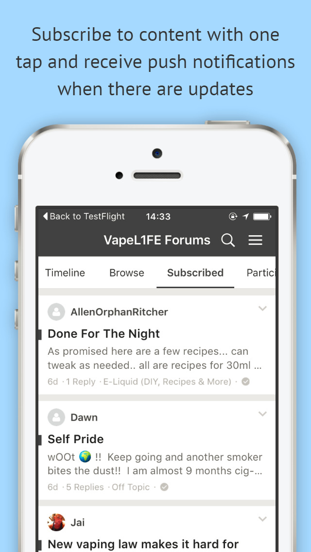 Vape Support Forums screenshot 4
