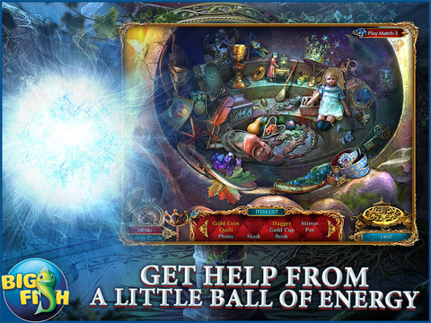The Curio Society: Eclipse over Mesina HD - A Hidden Object Mystery screenshot 2