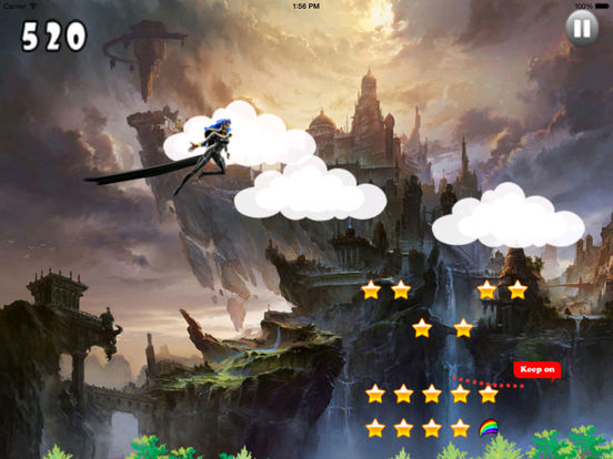 A Warrior Jumping - Awesome Fly And Run Game screenshot 8