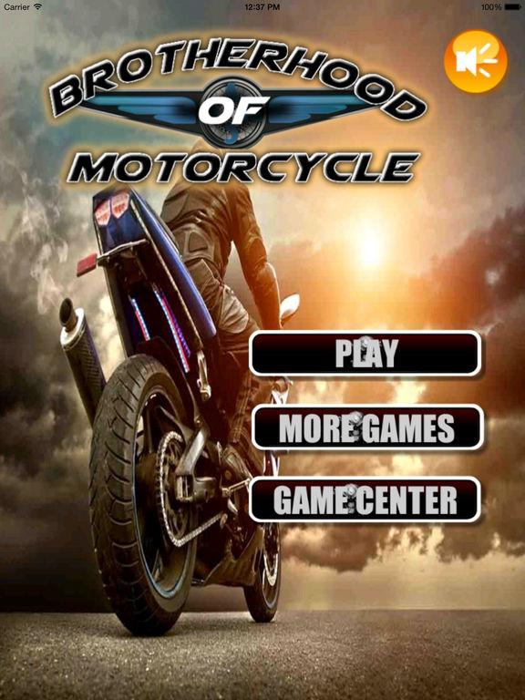 Brotherhood Of Motorcycle - Amazing Real Bike Race screenshot 6