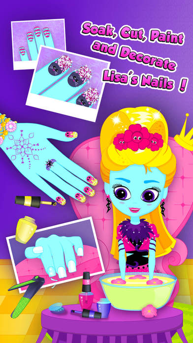 Monster Sisters 2 Home Spa - Rock Star Makeover screenshot 3