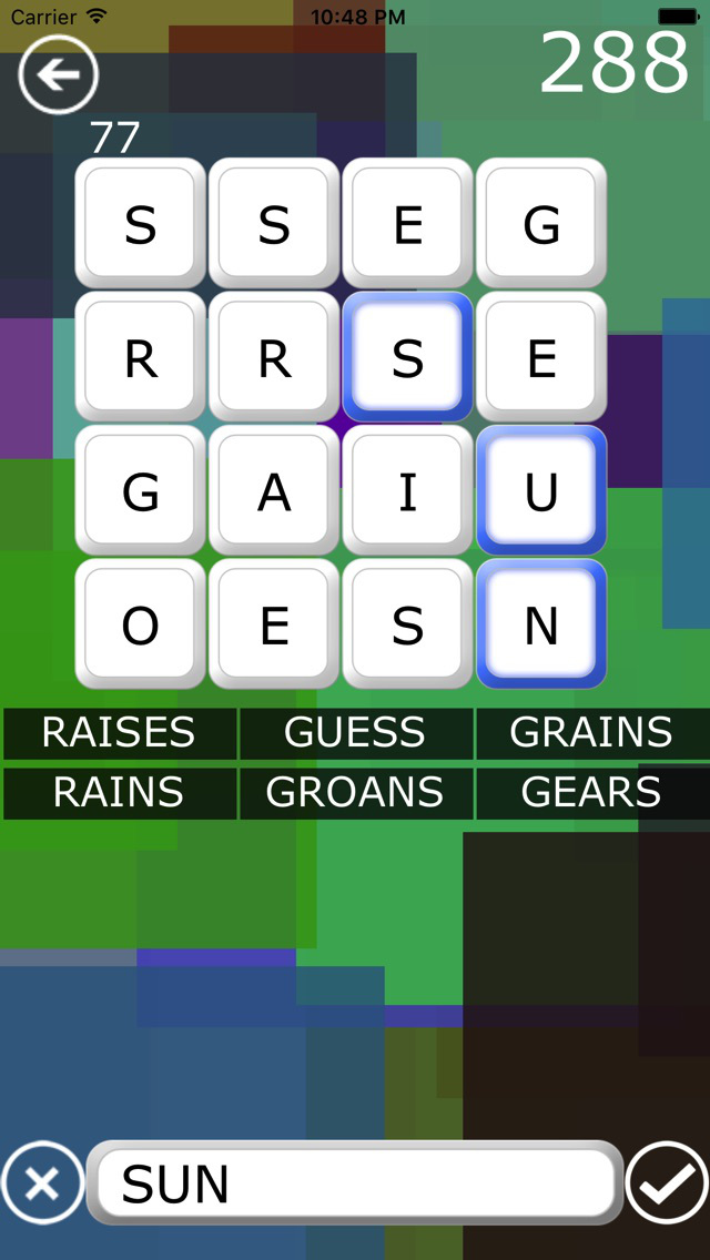 Woggle HD - Word Game screenshot 3