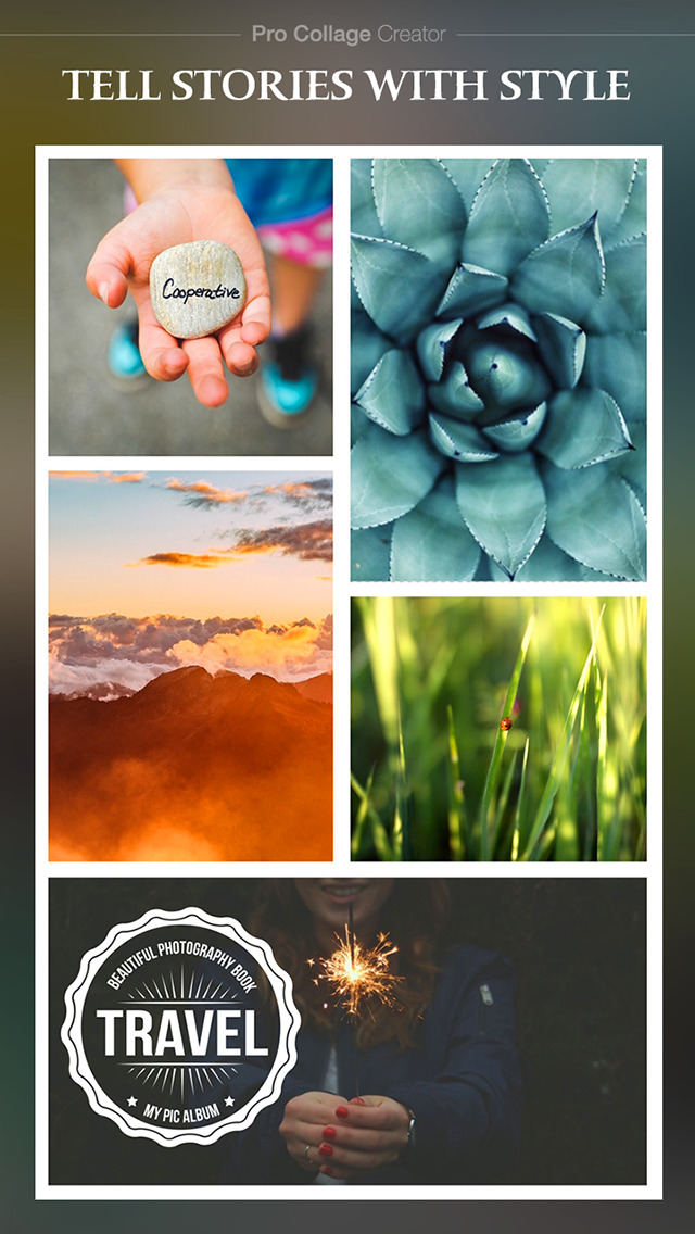 Pro Collage Creator Max - Photo Collage Editor & Layout & beauty Camera & sticker screenshot 3
