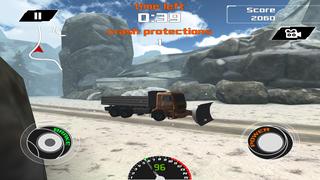 3D Snow Plow Racing- Extreme Off-Road Winter Race Simulator Free Version screenshot 4