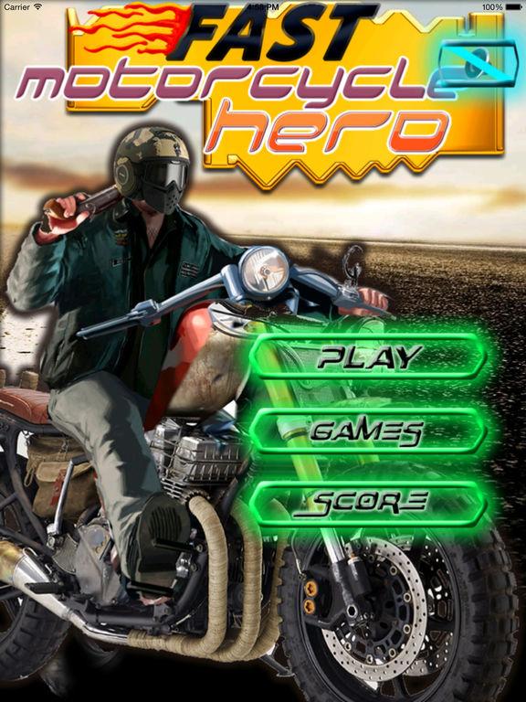 Fast Motorcycle Hero - Highway Ride Amazing screenshot 6