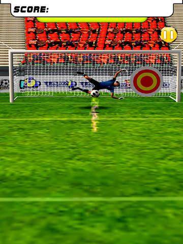 Ultimate Football: Penalty Kicks Free screenshot 10