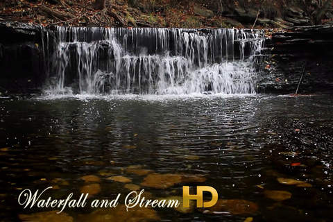 Waterfall and Stream HD - náhled