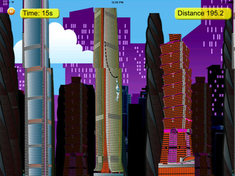 Steel Swing - City Rope Swing screenshot 9