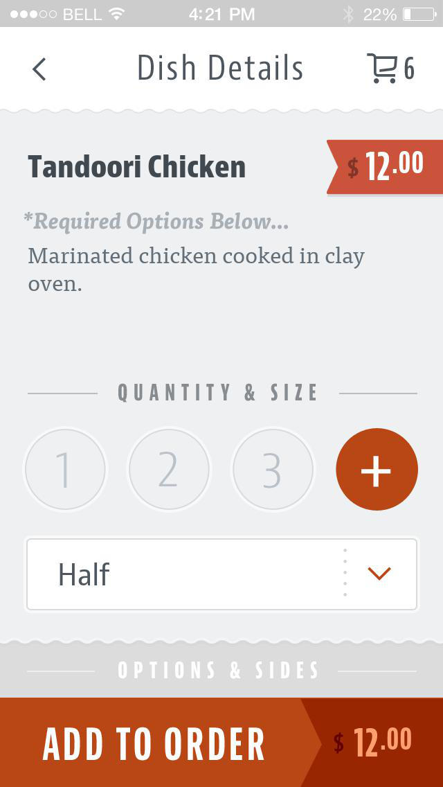 Tamarind Cuisine of India screenshot 4