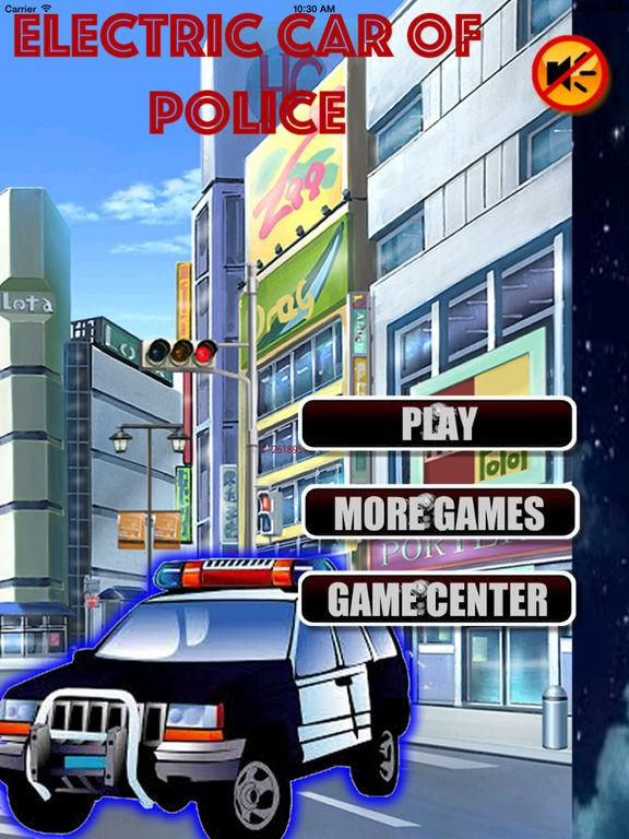 Electric Car Of Police - Fantastic Road screenshot 6
