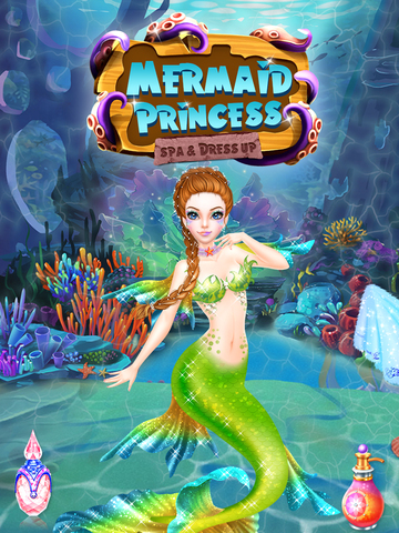 Mermaid Princess Spa & Dressup screenshot 6