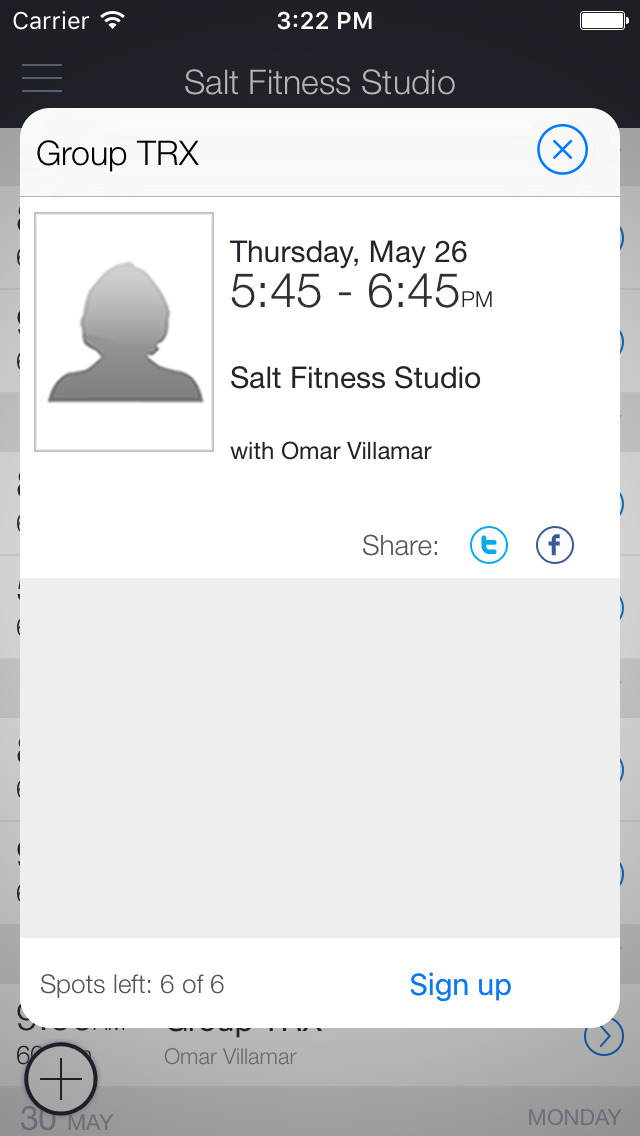 SALT Fitness Studio screenshot 2