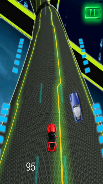 A Extreme Race Neon Pro - Amazing Speed Light Car screenshot 2