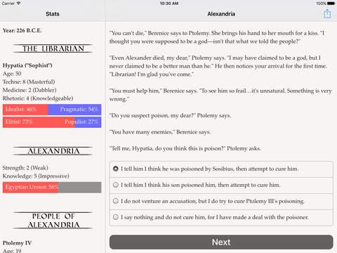 Choice of Alexandria screenshot 9