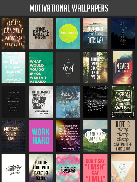 Motivational Wallpapers! screenshot 2