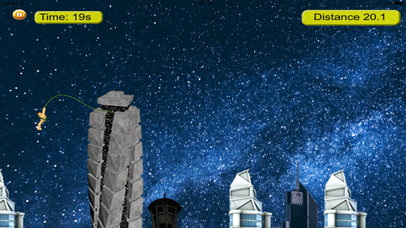A Jump Till Dawn On Rope Pro - Extreme Swing Game screenshot 3