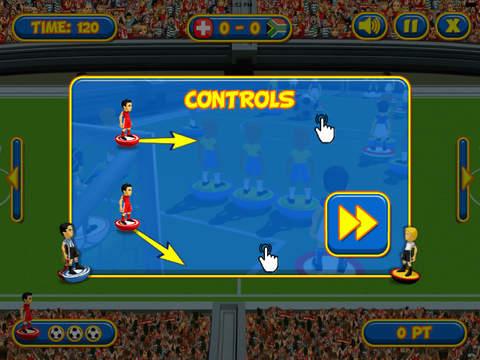Flicking Soccer screenshot 9