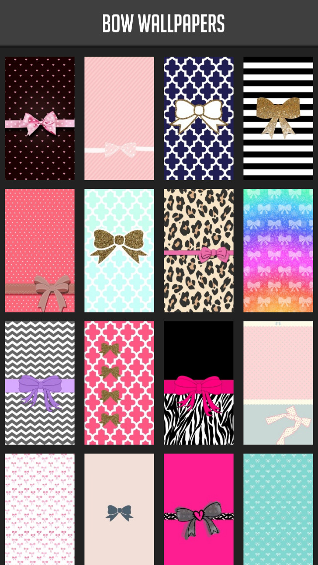Bow Wallpapers! screenshot 1