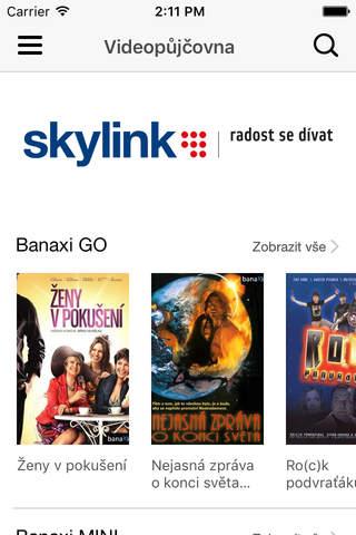 Skylink Live TV CZ - náhled