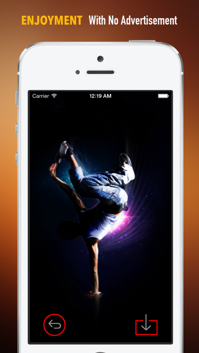 Break Dance  Wallpapers HD: Quotes Backgrounds with Art Pictures screenshot 2