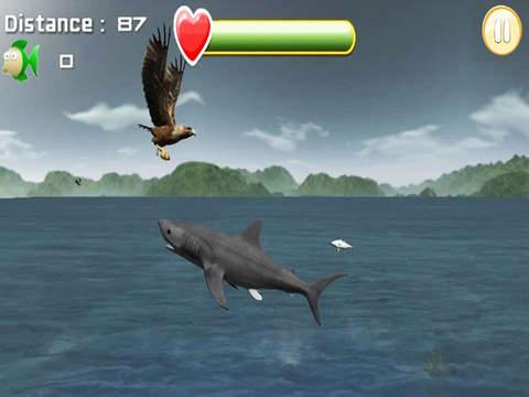 Eagle Fish Hunting : Fishing Simulator free screenshot 8