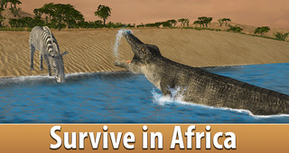 Zebra Simulator 3D Full - African Horse Survival screenshot 3