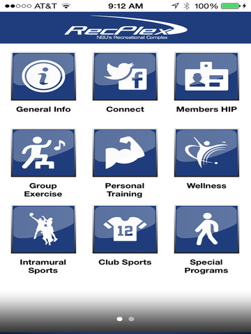 NSU Recreation & Wellness - náhled