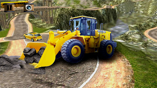 Excavator Drive Simulator : Free Simulation Game screenshot 1