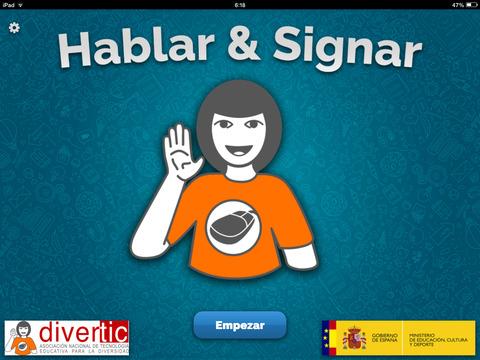 Hablar y Signar screenshot 1