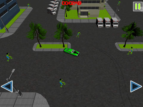 Drift Cars Vs Zombies - Kill eXtreme Undead in this Apocalypse Outbreak Racing Simulator Game FREE screenshot 9