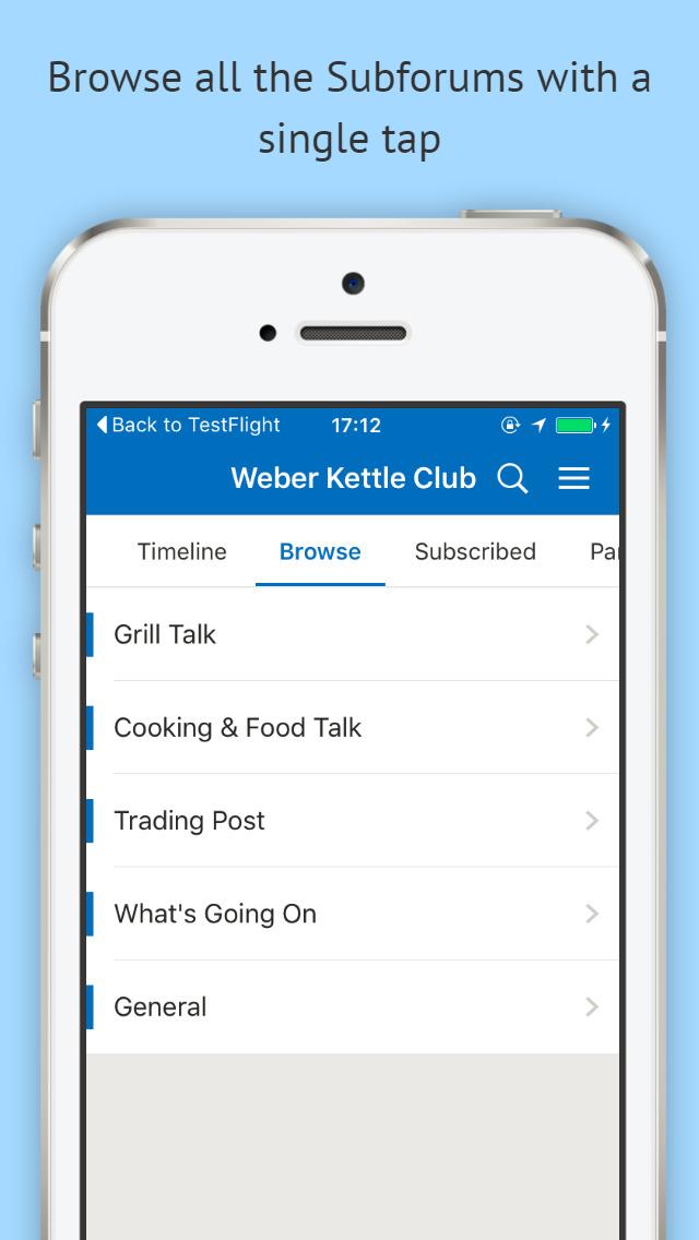 Weber Kettle Club screenshot 2